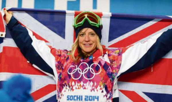 Olympic bronze medallist Jenny Jones