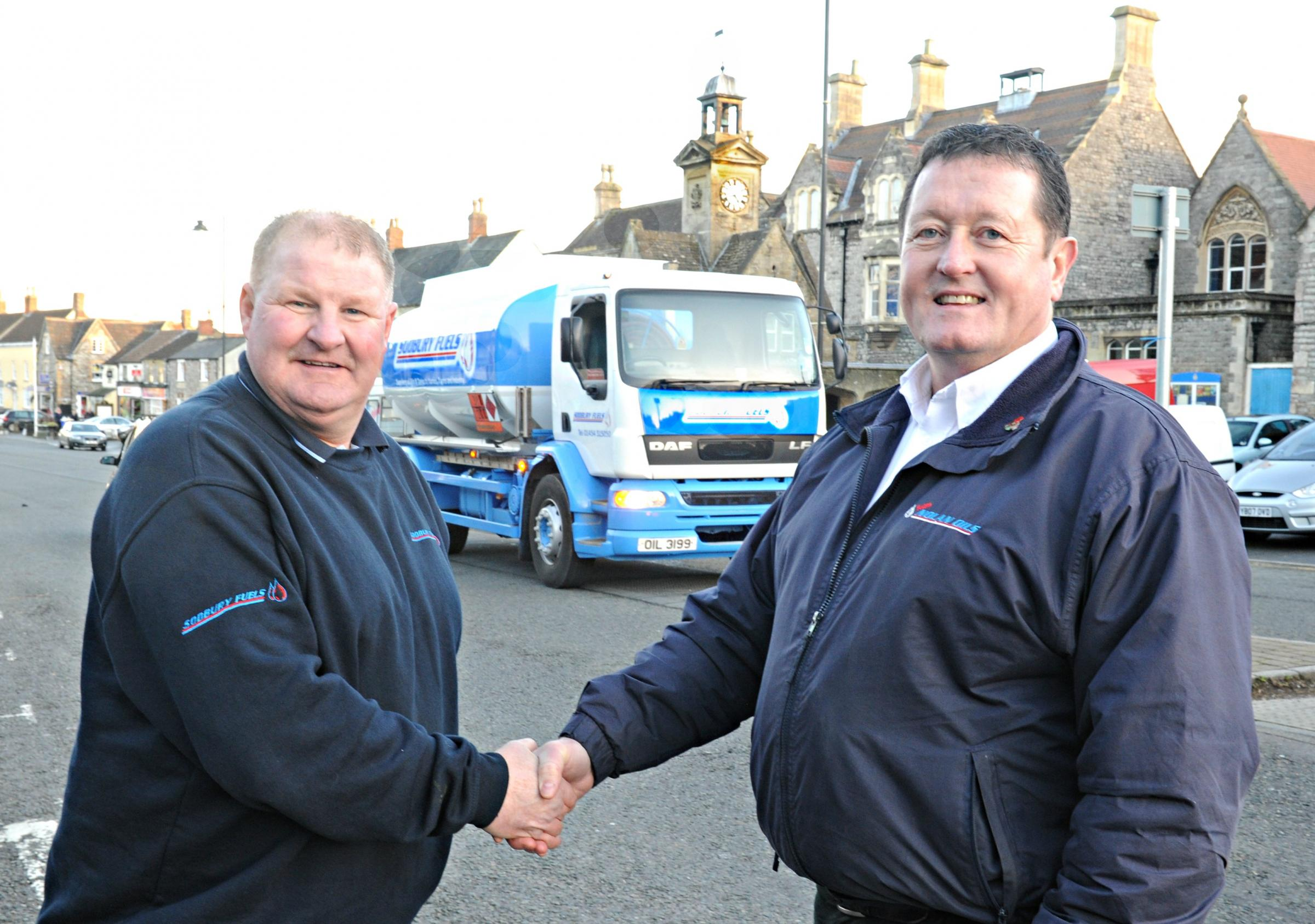 MIke Welch and Mark Nolan of Sodbury Fuels