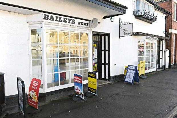 Baileys News on Market Place in Berkeley looks set to be saved (4312593)