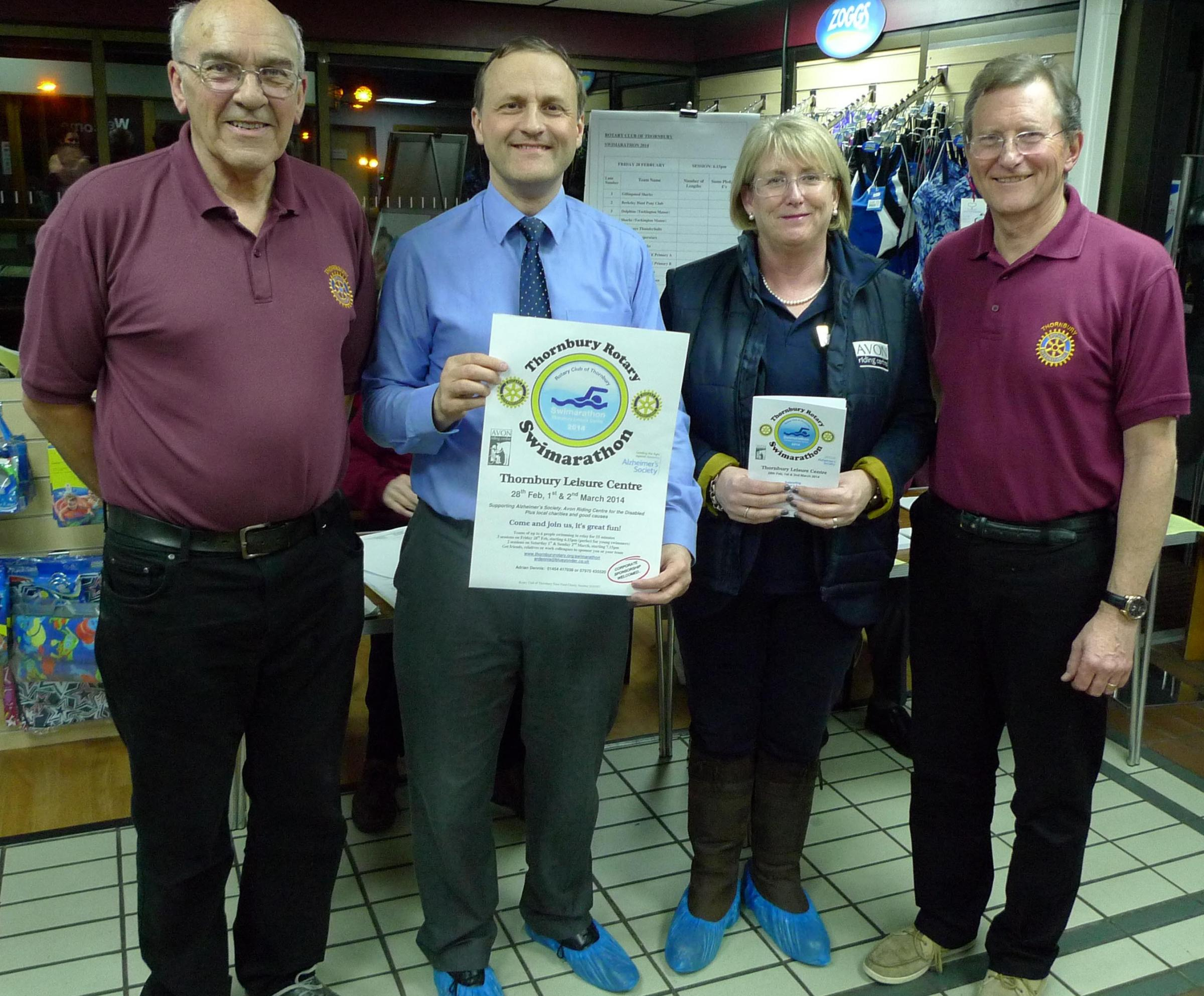 Another successful year for Thornbury swimathon