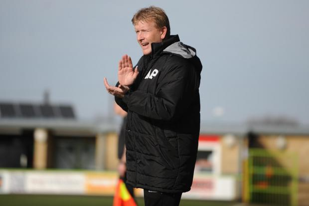 ANGRY: Forest Green boss Ady Pennock