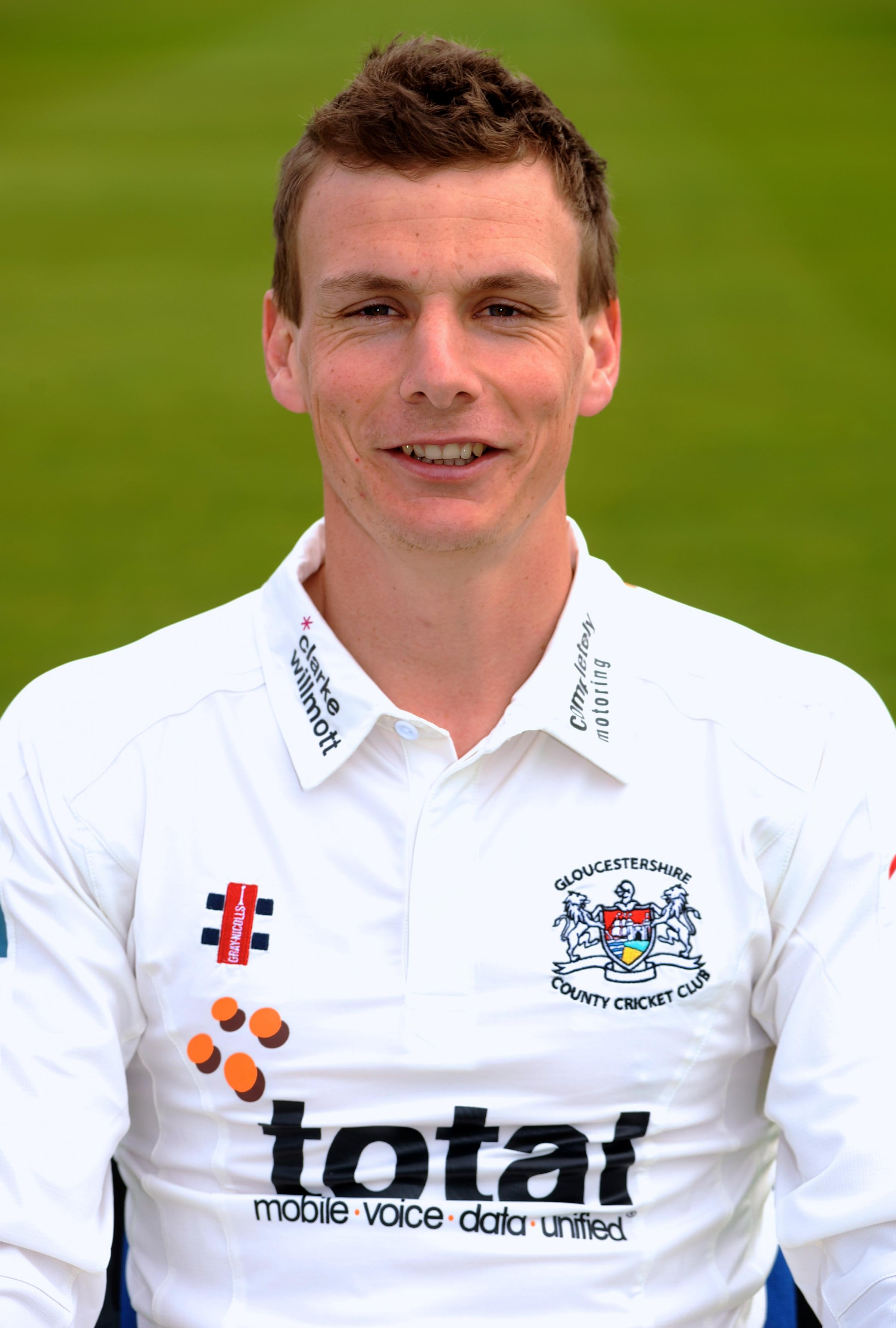 Gloucestershire all-rounder Will Gidman