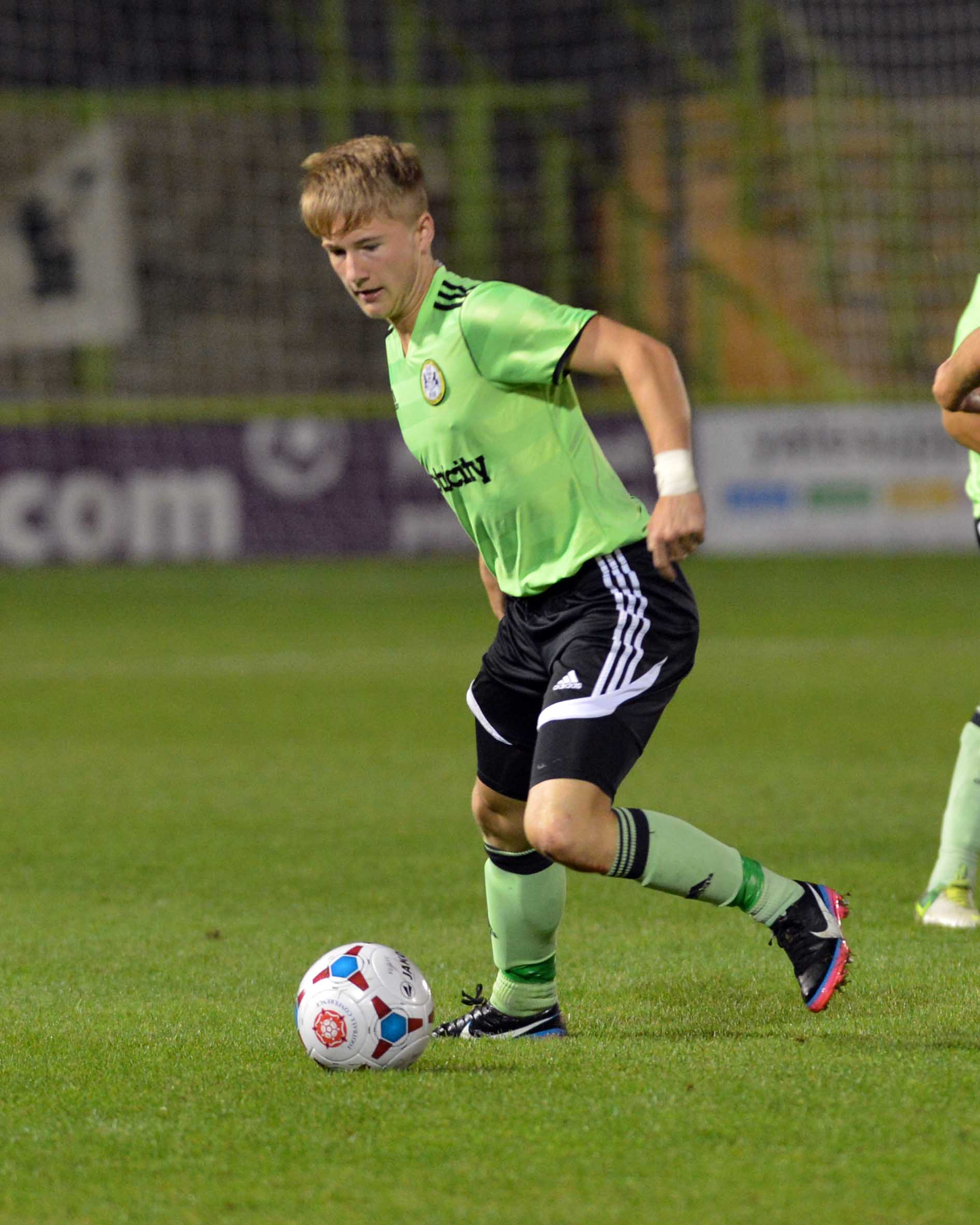 Forest Green Academy striker Dan Martin has joined Shortwood on loan Picture: Bruce Fenn