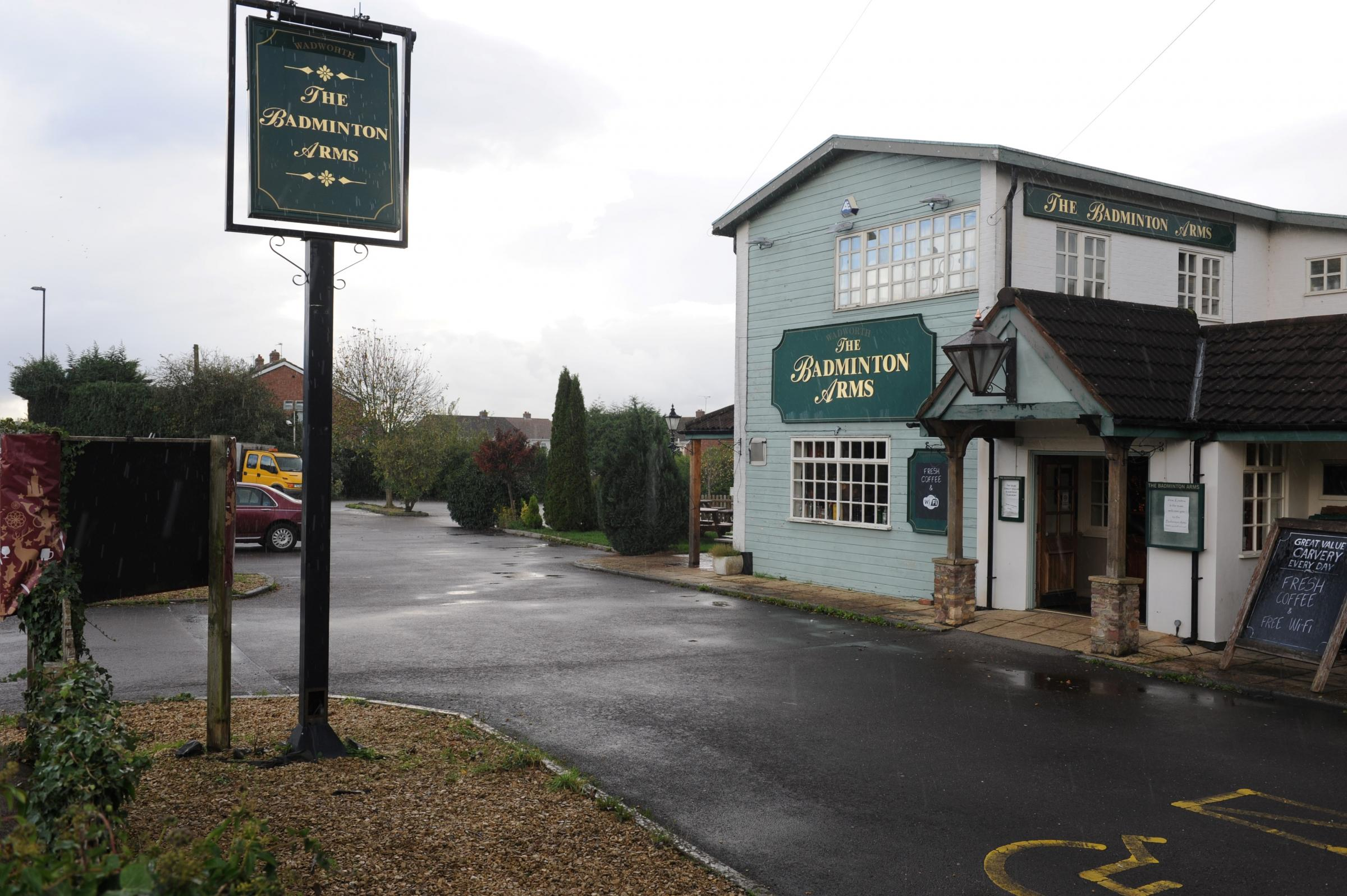 The Badminton Arms in Coalpit Heath
