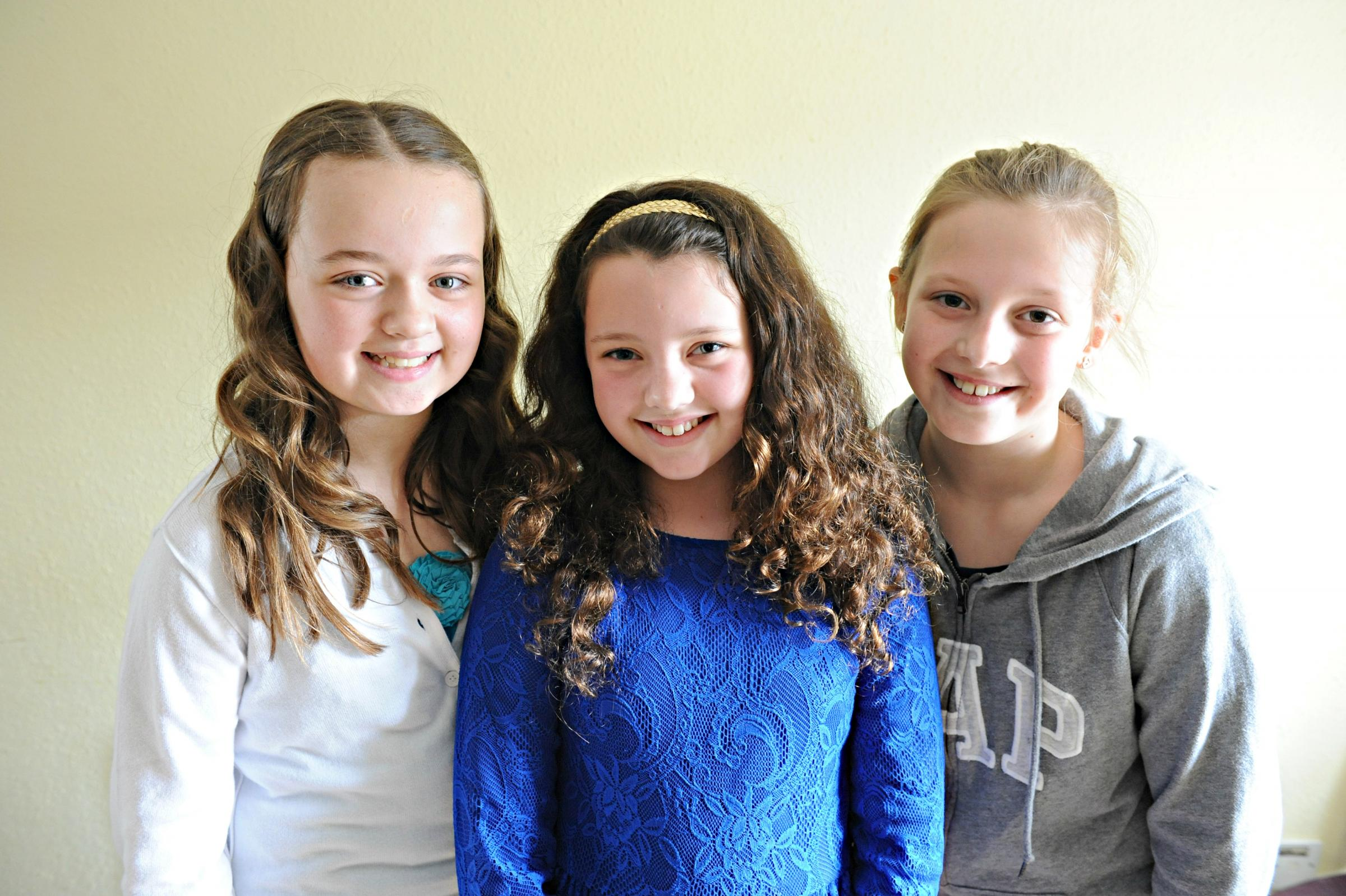 Chipping Sodbury Festival Princess Sophie Saxby, 10,centre, with he