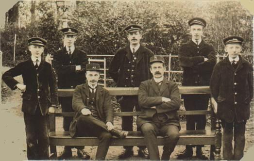 Do you recognise these railway workers from Yate?