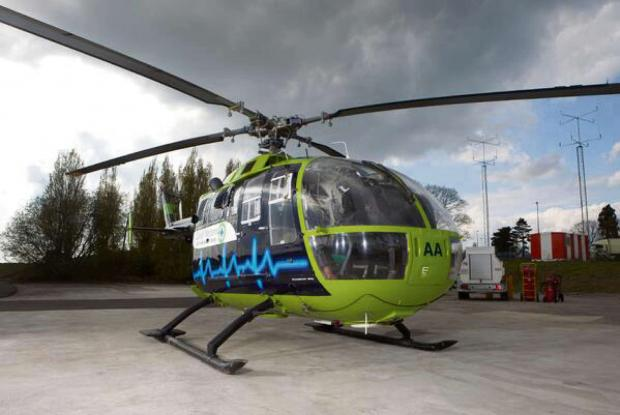 The Great Western Air Ambulance Charity is calling for funding support (4838704)