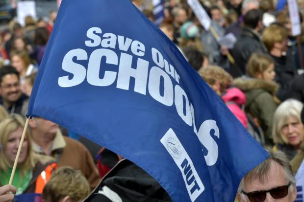 Schools close across region as teachers strike