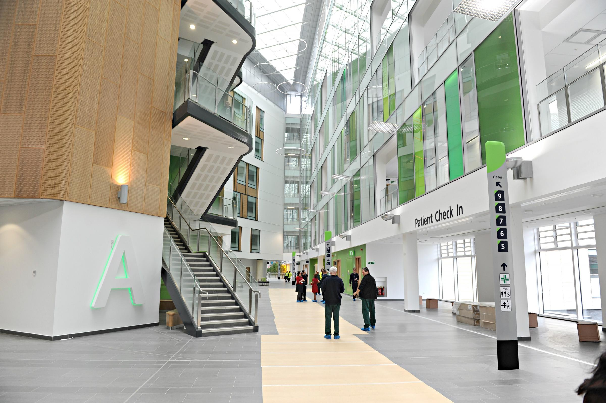 A&E services transfer to the new Brunel building at Southmead Hospital this Monday