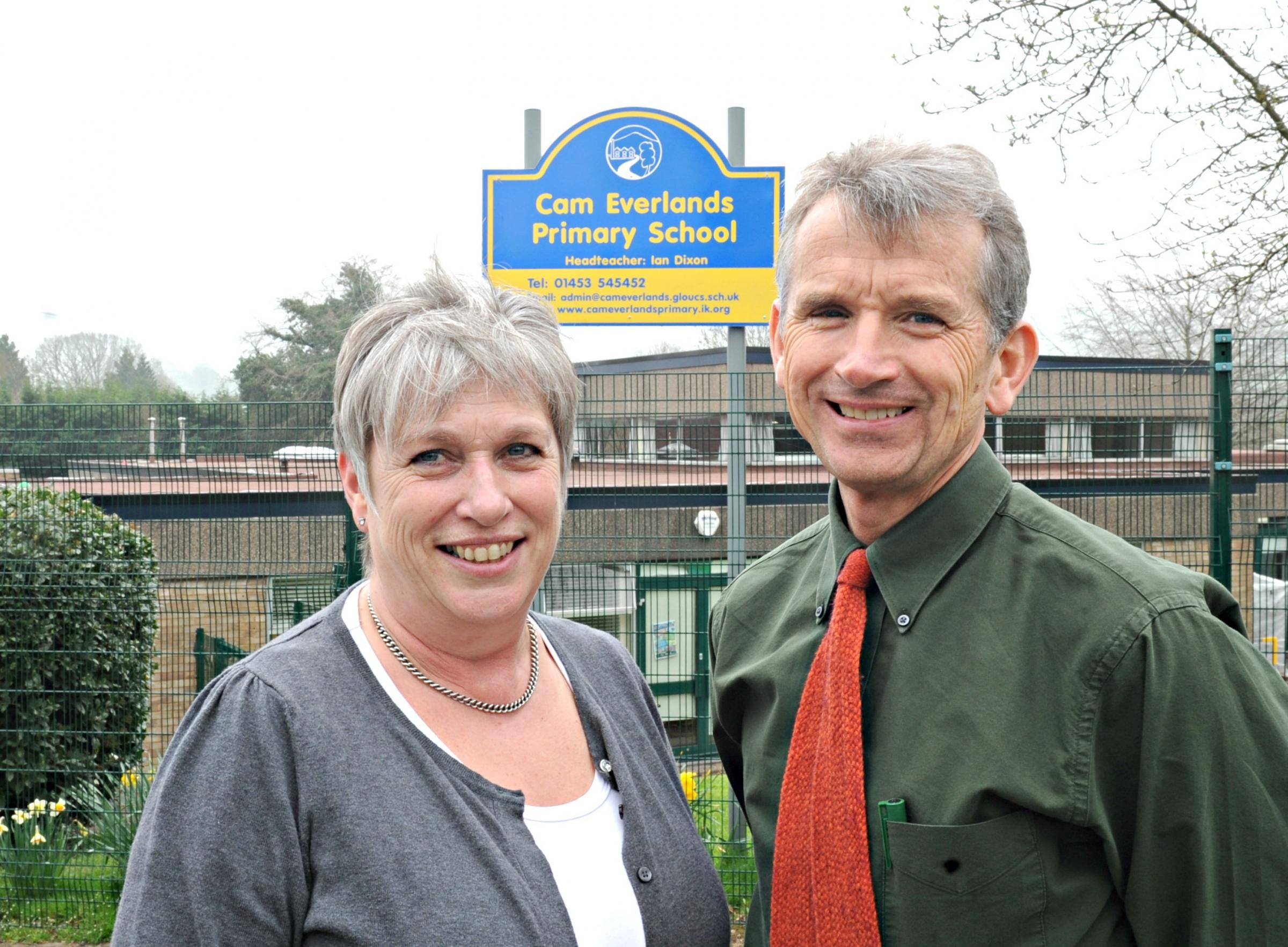 Teachers retire after 46 years at Cam primary school