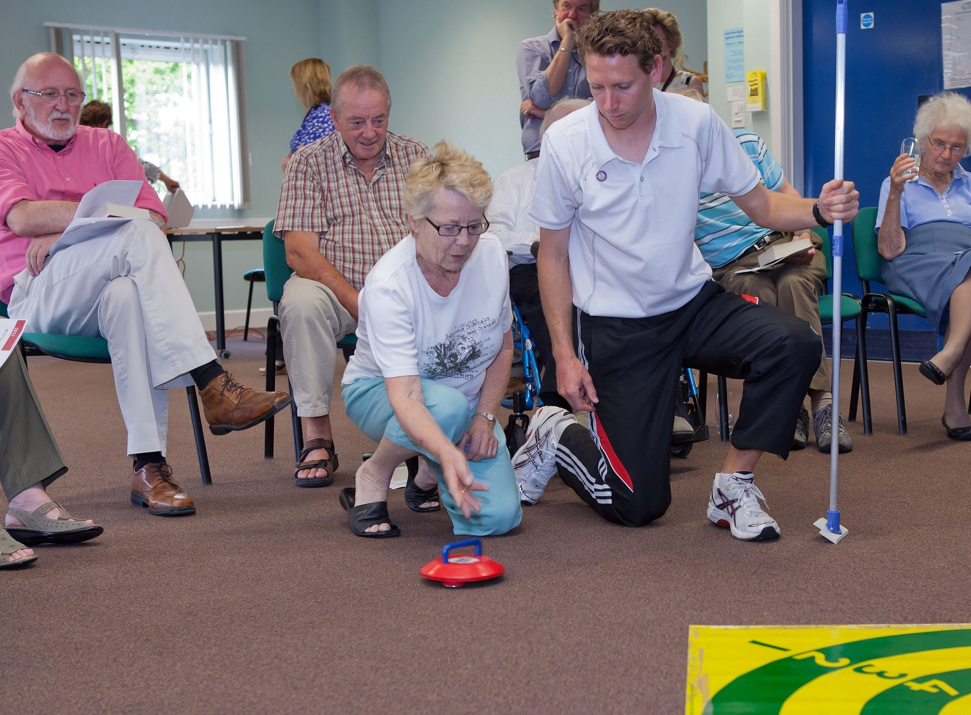 Friendship clubs offer a chance to exercise and socialise (5250531)