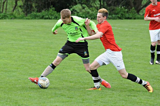 Gazette Series: Kris Williams in action for Wotton against Viney St Swithins (5395221)