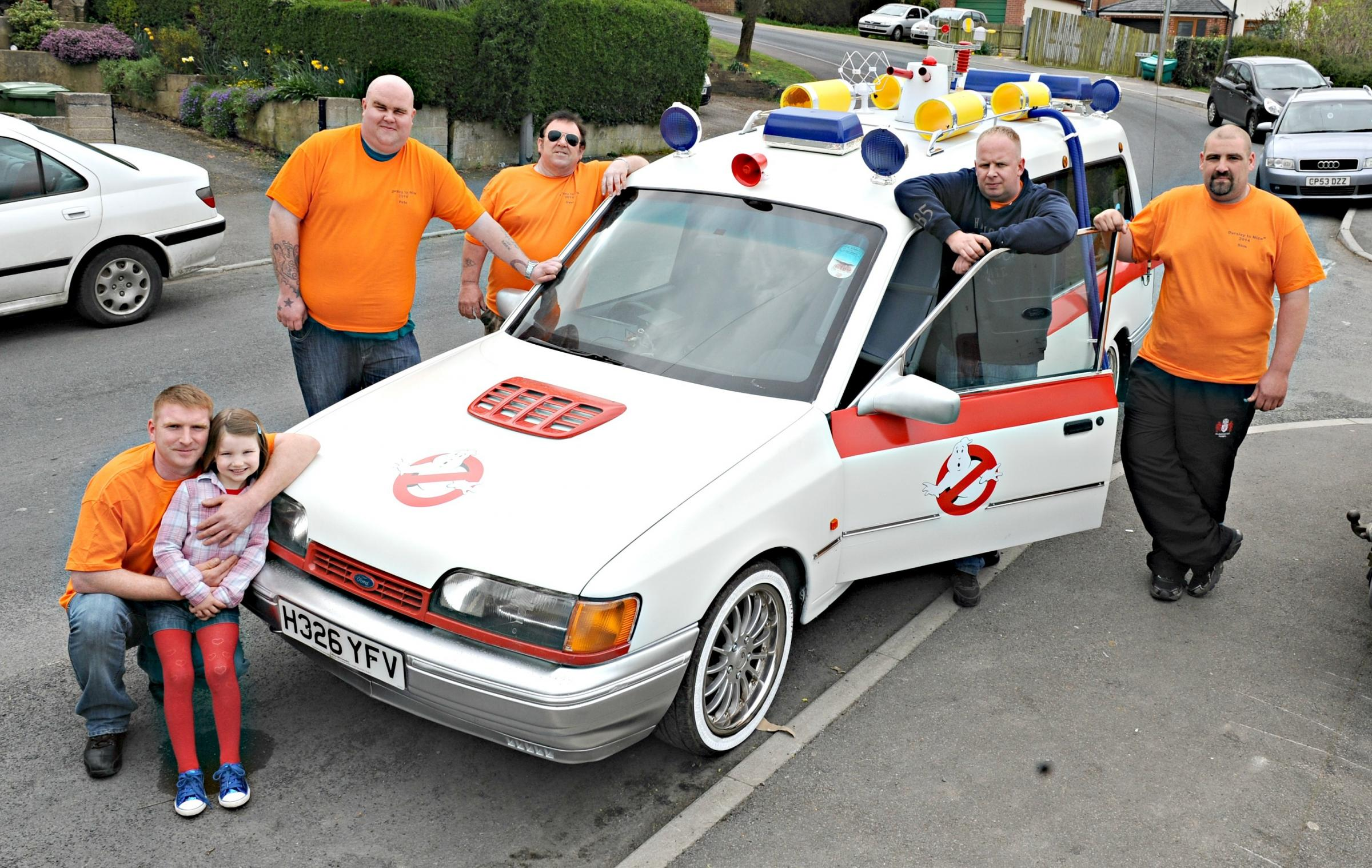 Dursley Ghostbusters heading off on 2,000-mile rally