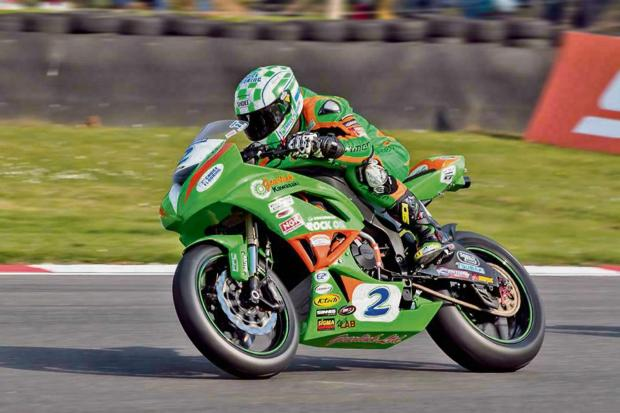 Luke Hedger in action at Brands Hatch. Picture by Johny Wills Photography.