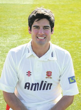 England captain Alastair Cook has scored two centuries this season for Essex