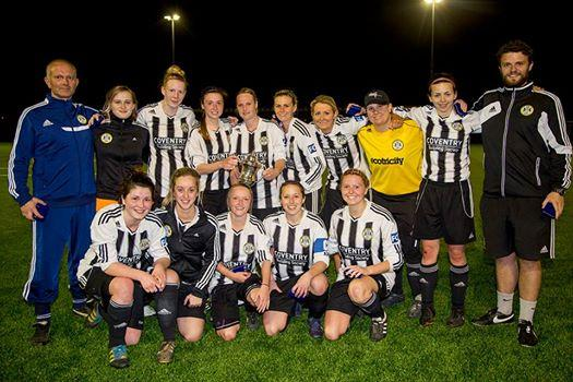Forest Green ladies lifted the GFA Trophy Final           Picture: Shane Healey