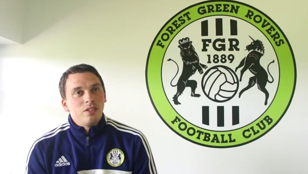 Scott Bartlett, head of Forest Green youth