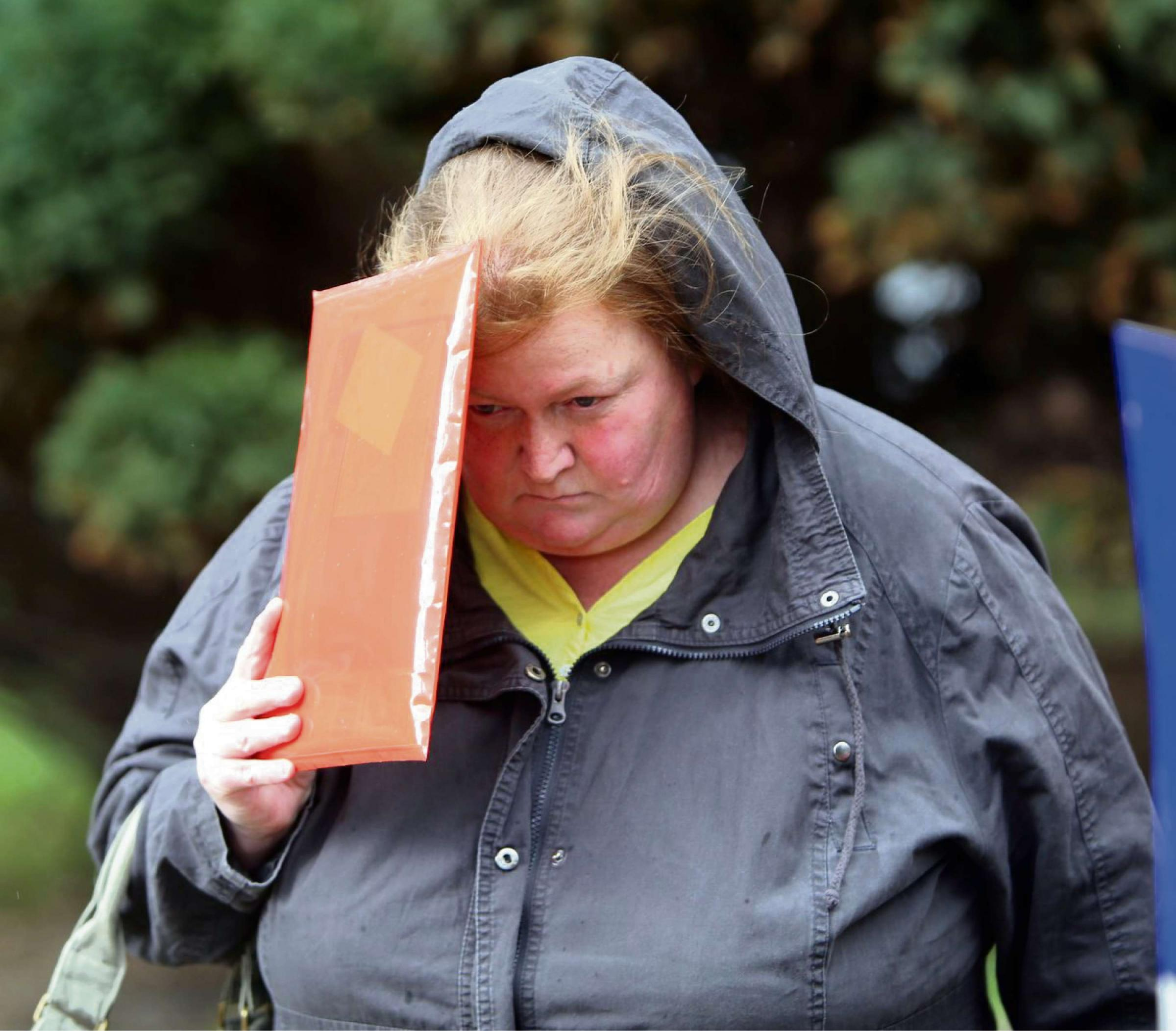 "Care home manager from Dursley, Rachel Stokes, 48, was jailed for eight months by a judge who described her offences as ""the most shocking breach of trust""(5671546)"