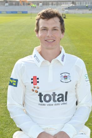 Gloucestershire CCC all-rounder Will Gidman scored a century against Hampshire