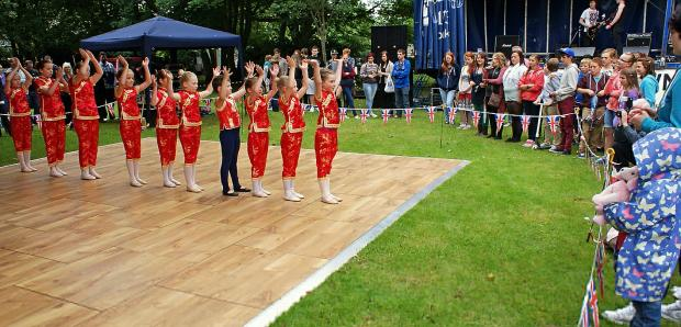 Kathryn Hurley Dance Academy performed at last year's festival