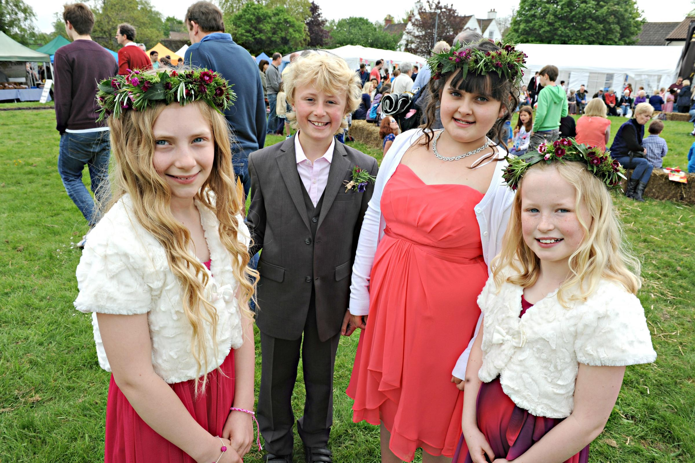 Sunny May Day celebrations pull in the crowds in Iron Acton