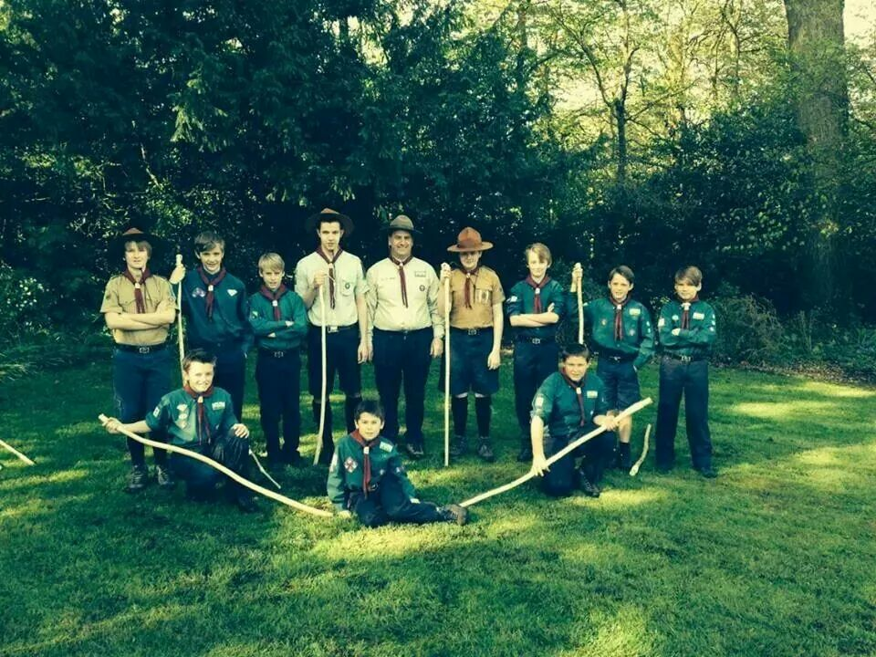Scouts celebrate 100 years in Chipping Sodbury