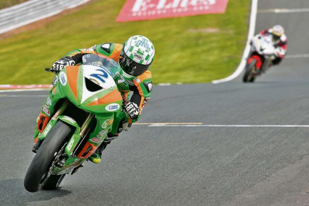 Luke Hedger in action at Oulton Park. Picture by Johny Wills Photography