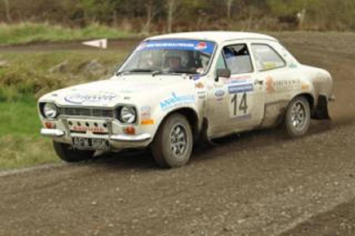 David Stokes on the Hamsterley Historic Stages. Photo by Kevin Money