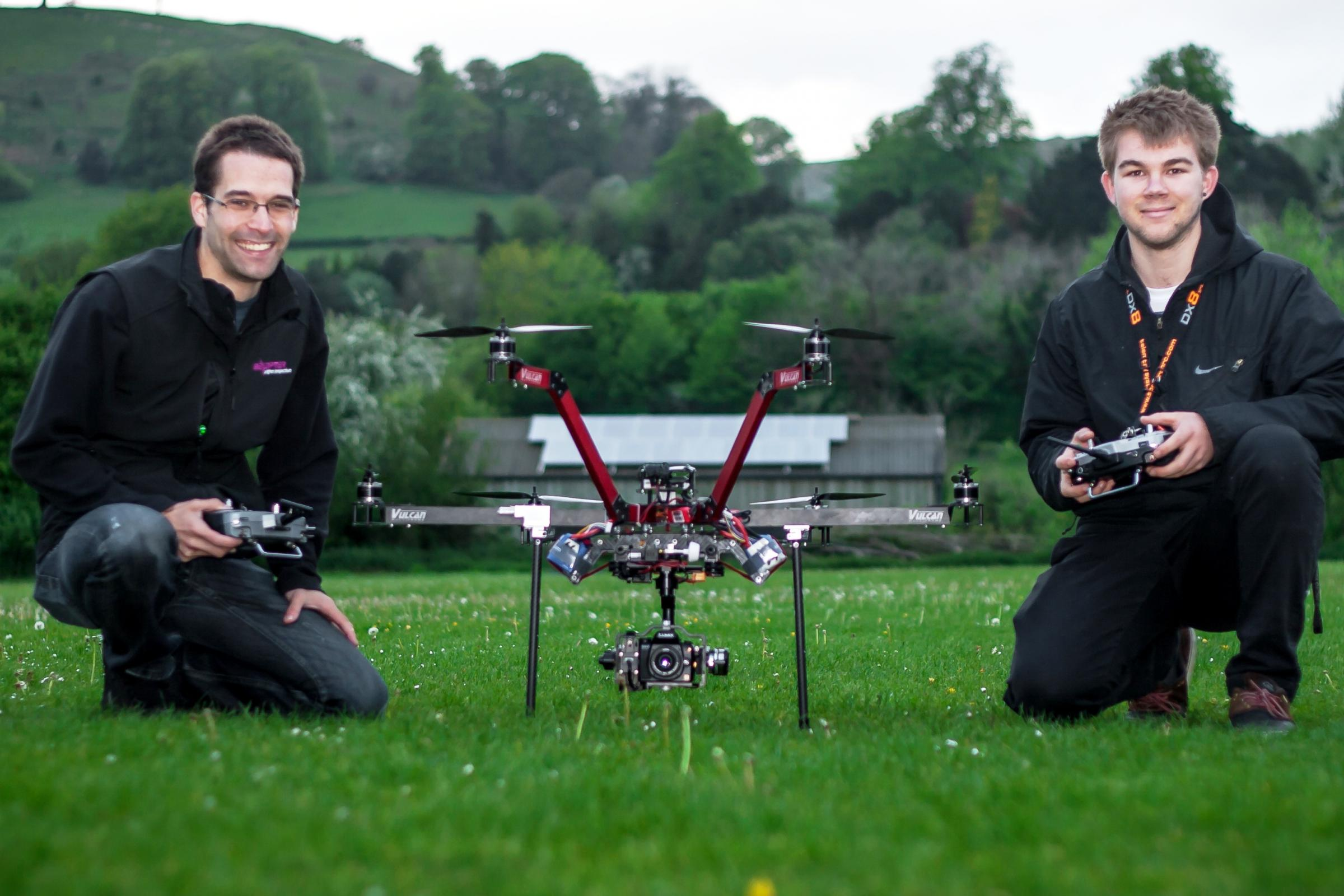 Uley student snaps-up dream job working with remote-control helicopters