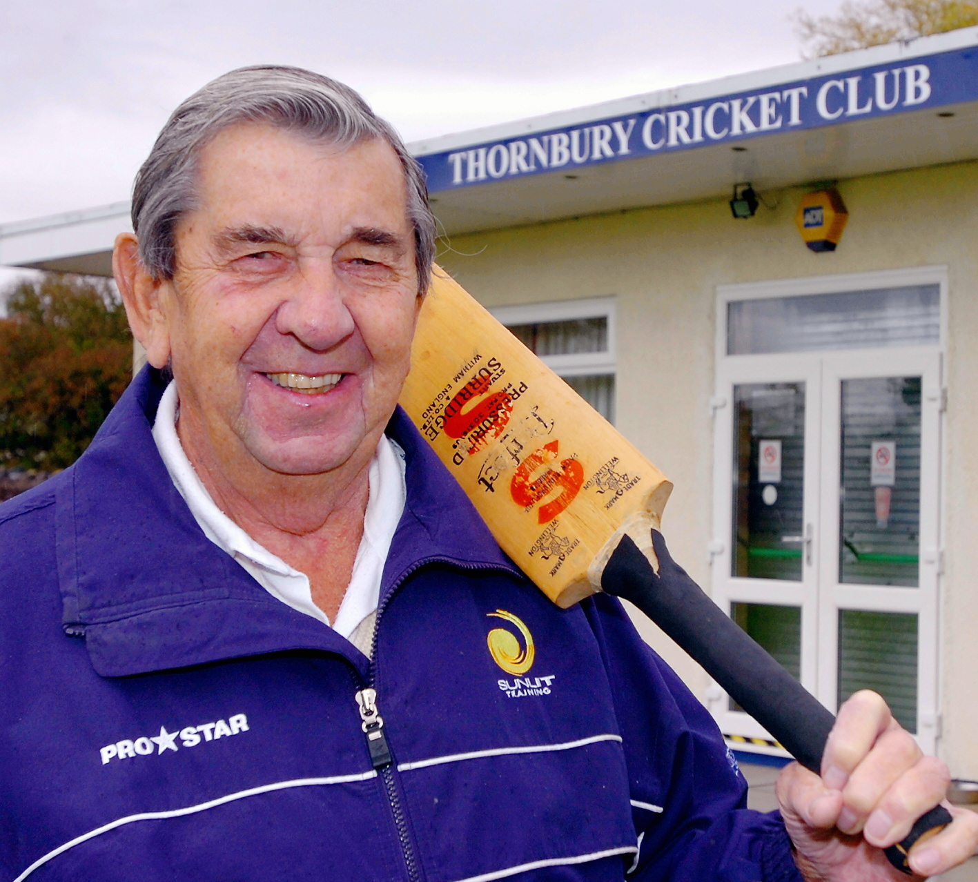 Former Gloucestershire and England cricketer David Allen