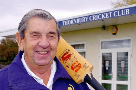 David Allen played for Gloucestershire and England