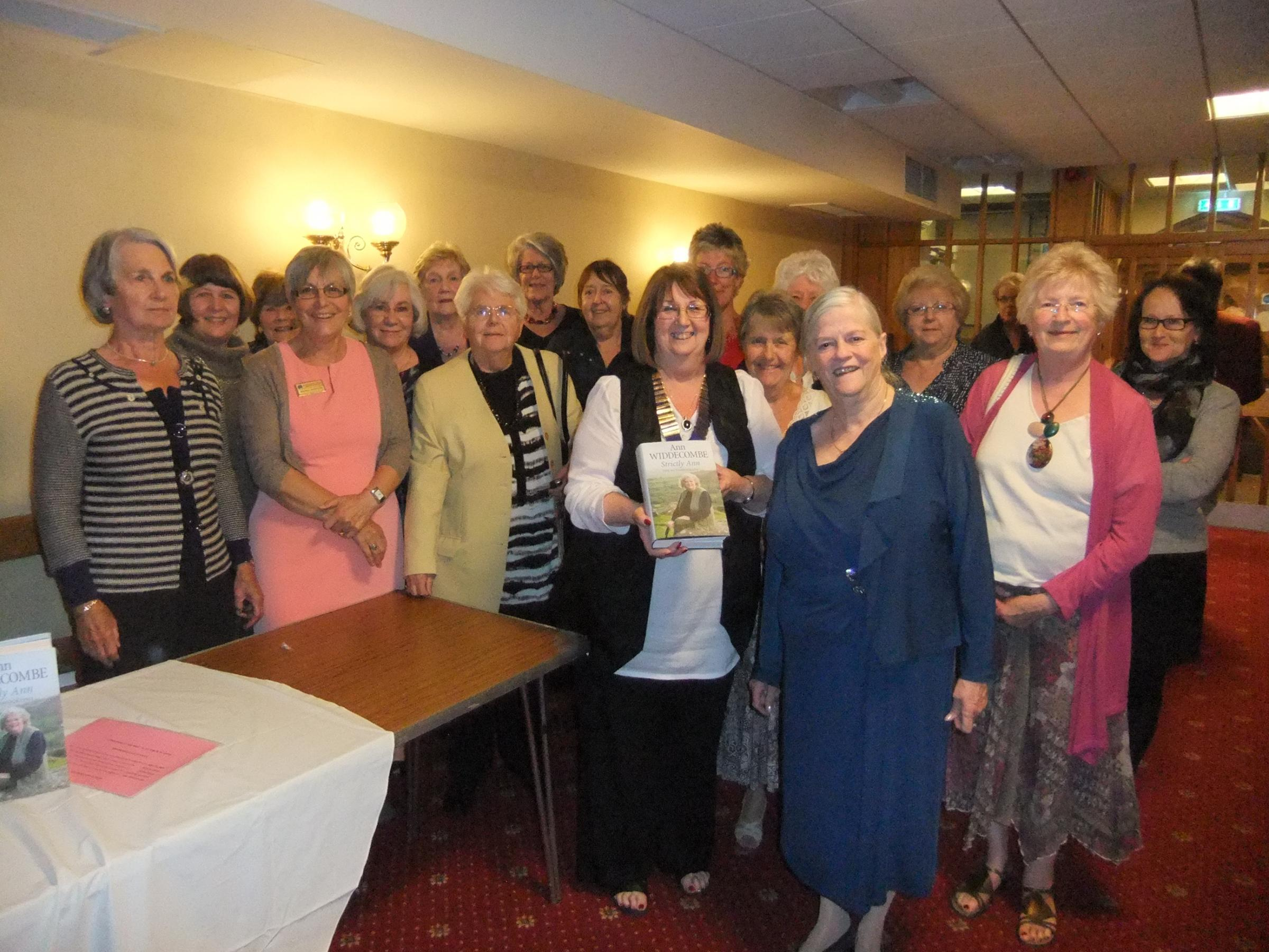 Ann Widdecombe talks politics, Strictly and panto at charity talk in Chipping Sodbury