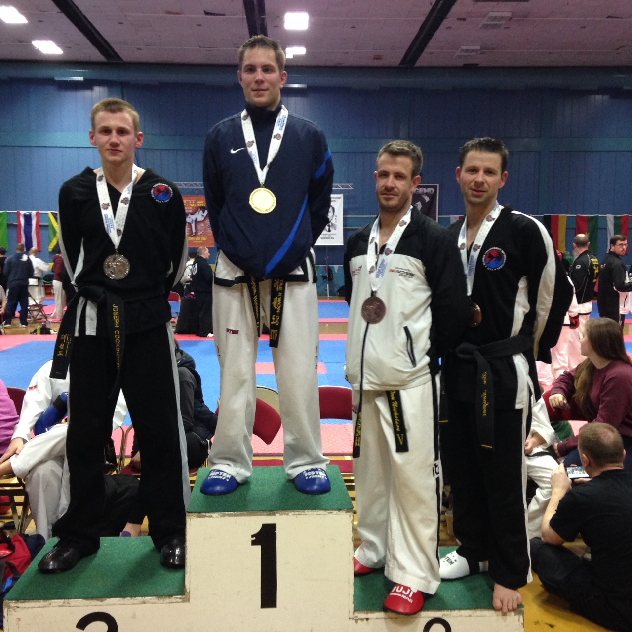 Tae kwon do: From celebrity personal trainer to World Championship bronze medallist