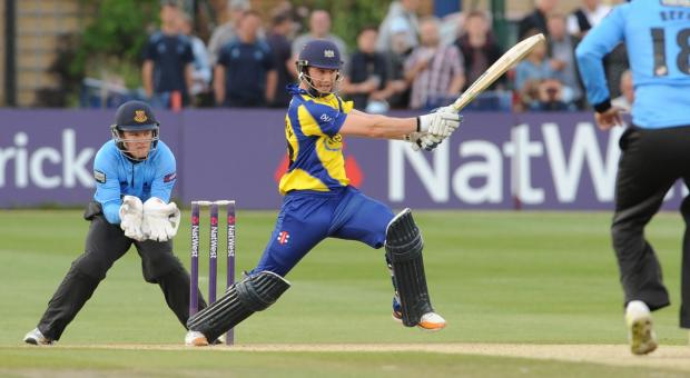 Ian Cockbain goes on the attack against Sussex