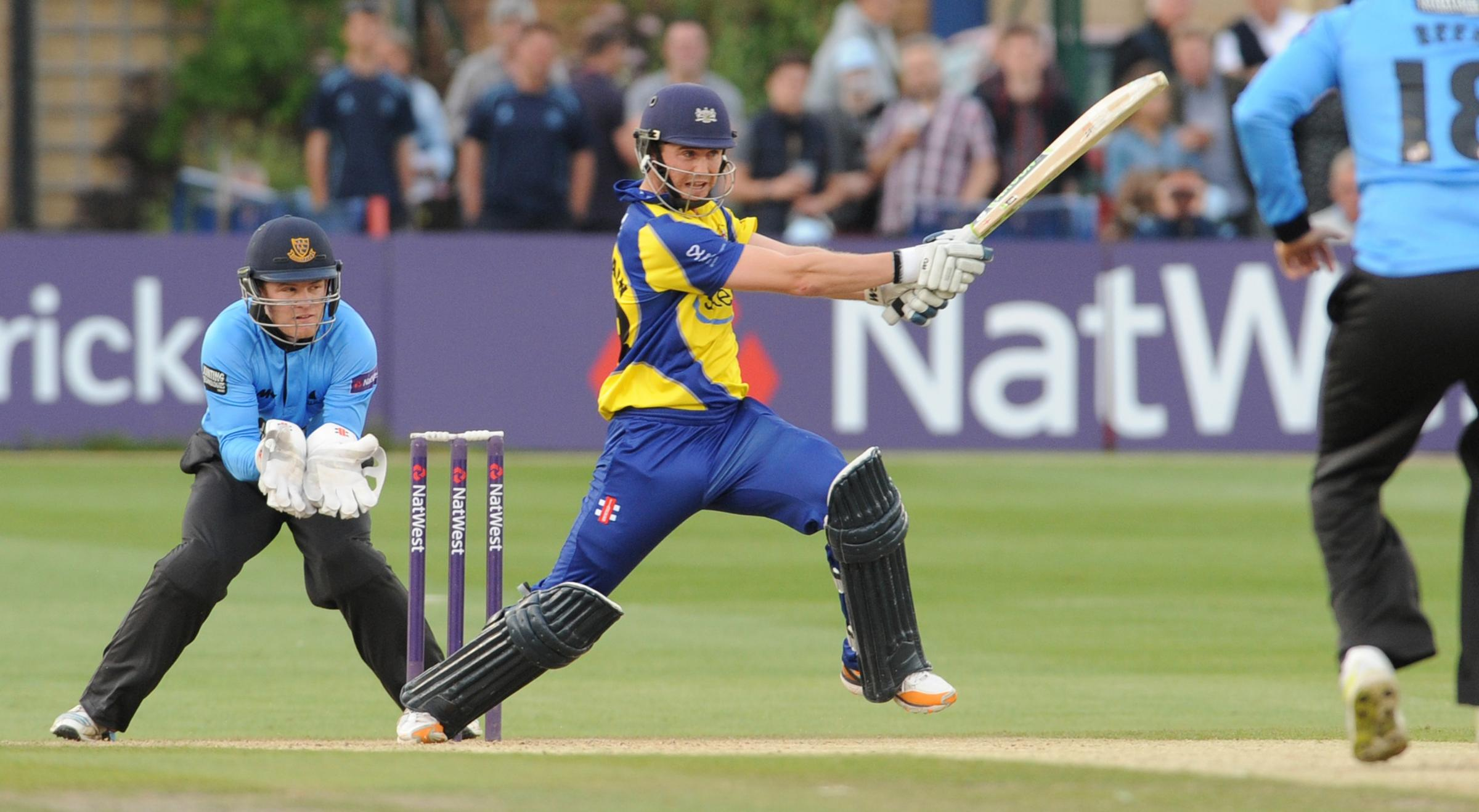 Ian Cockbain scored 98 not out for Gloucestershire