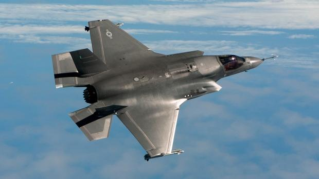 The F35 is arriving in Fairford at the end of June. Photo by aviation news