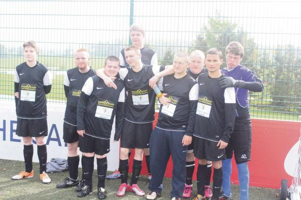 The SGS College Ability Counts football team