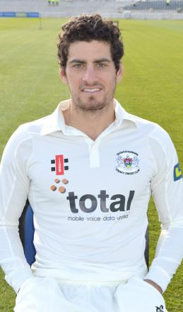 Gloucestershire CCC batsman Benny Howell