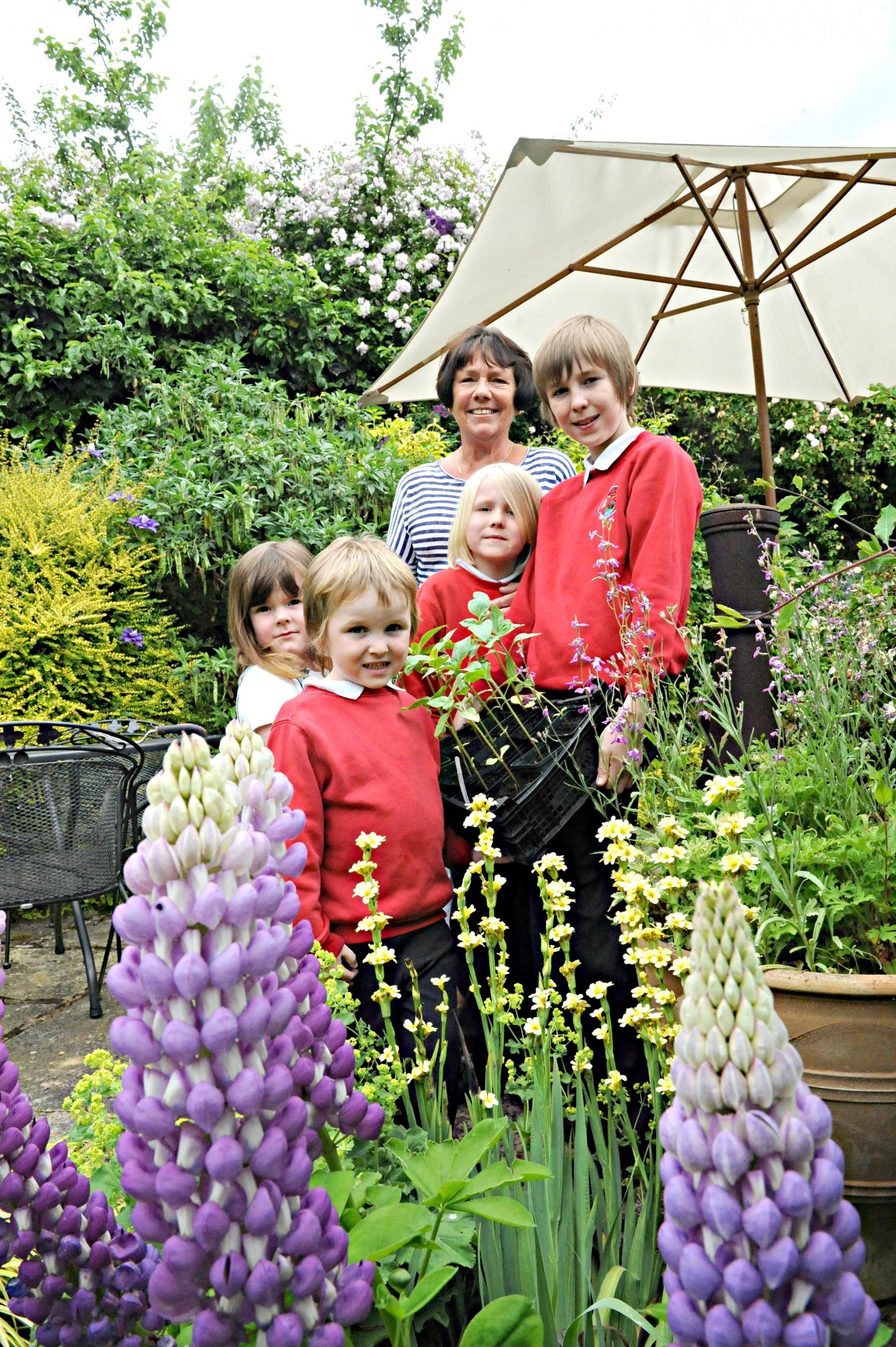 Uley villagers open up gardens for charity