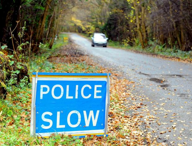 Cyclist collides with car near Wotton-under-Edge