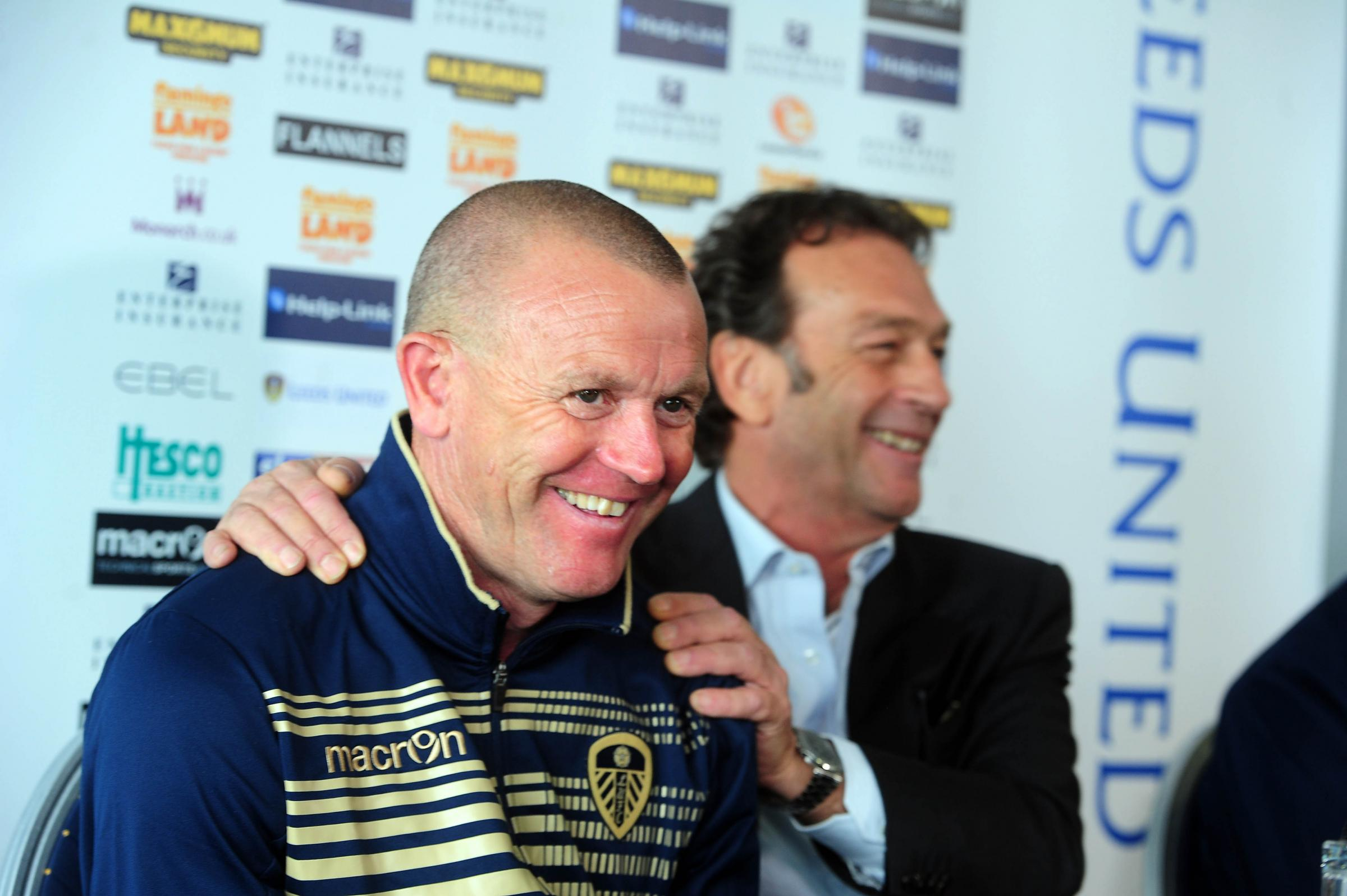 STAYING: Former Forest Green boss David Hockaday is staying at  Leeds United Pic: Yorkshire Post