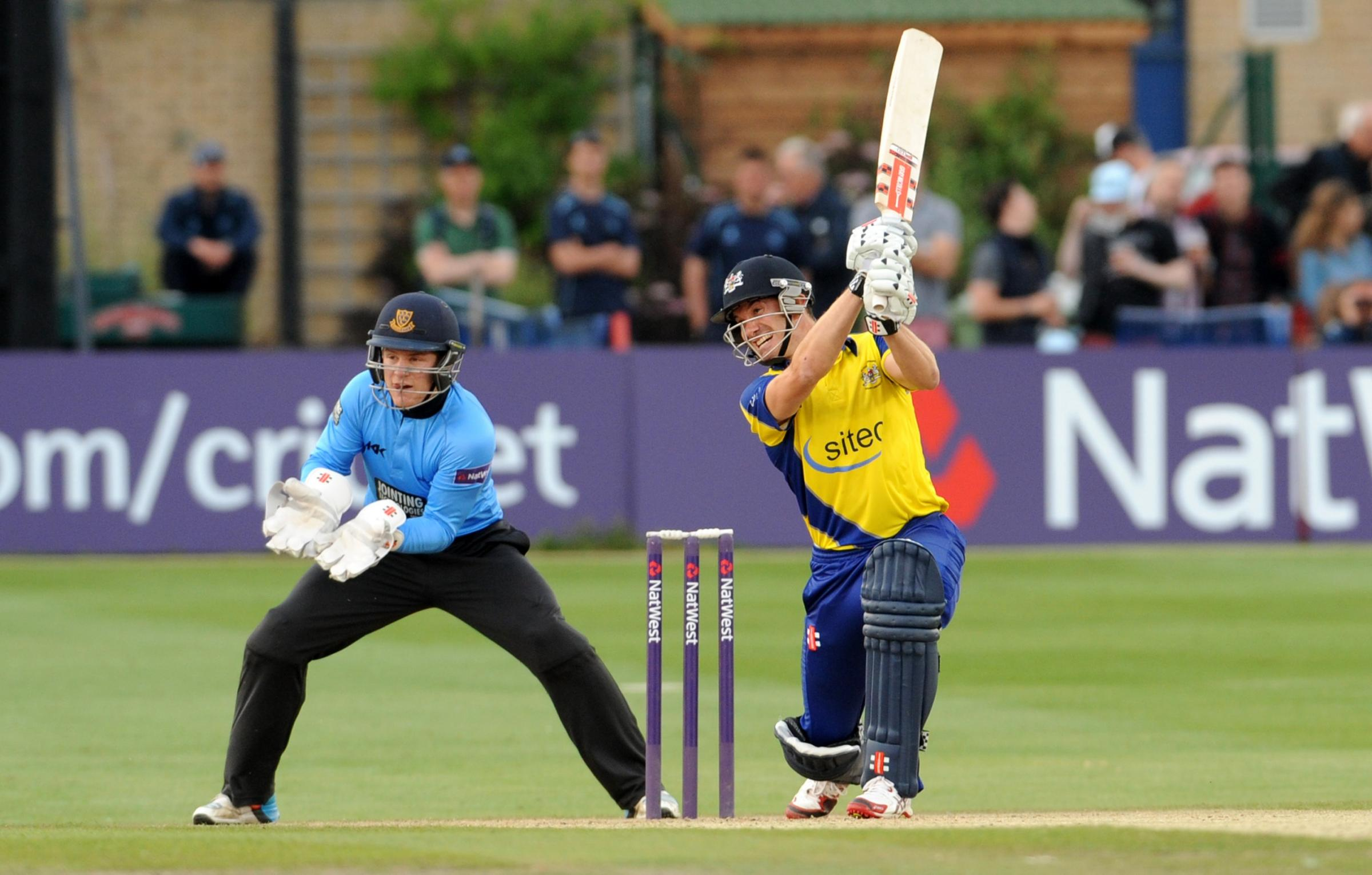 Captain Michael Klinger top-scored for Gloucestershire