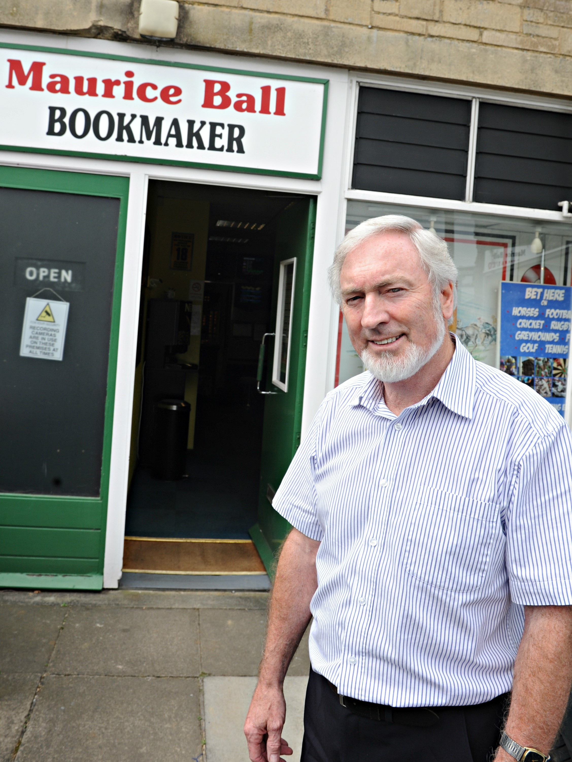 Dursley's bookie for 38-years calls it quits
