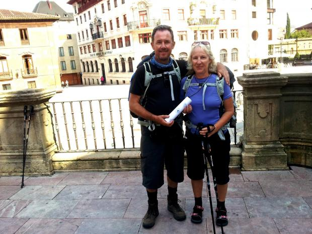 Former Rednock teacher John Conway and his wife Helen are set to take part in the 550km European Peace Walk as part of commemorations of the First World War