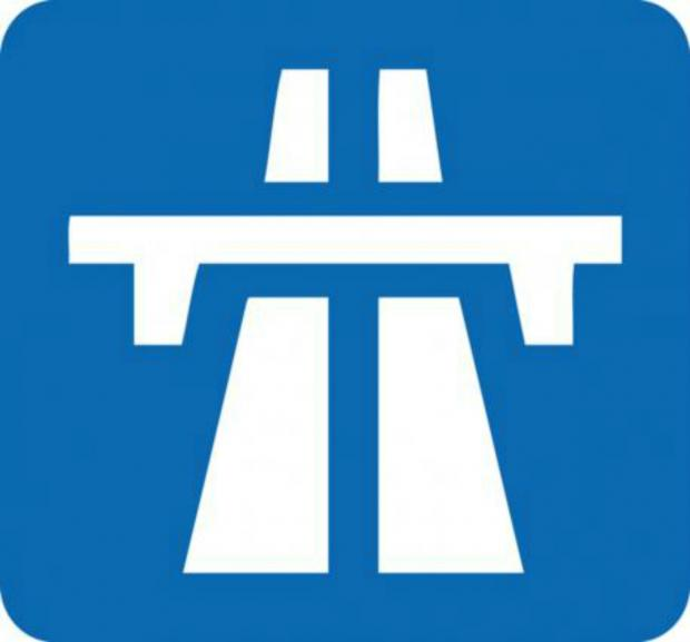 Night time closures of M5 sliproads at Falfield for resurfacing work