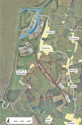 Plans on show for 1,500 homes in Sharpness