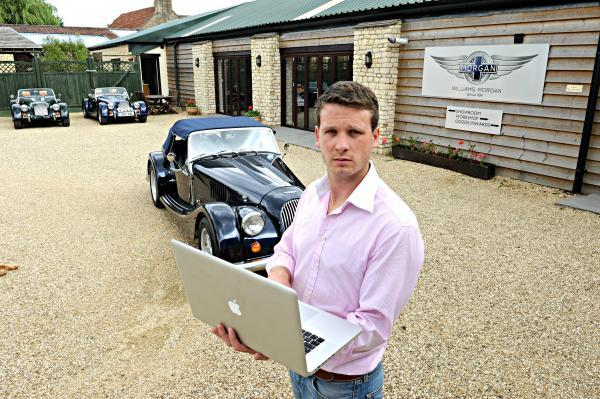 Gazette Series: Henry Williams of Williams Automobiles in Horton frustrated at the company's broadband service