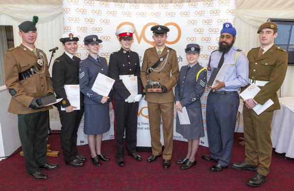 Yate cadet is honoured at the House of Lords