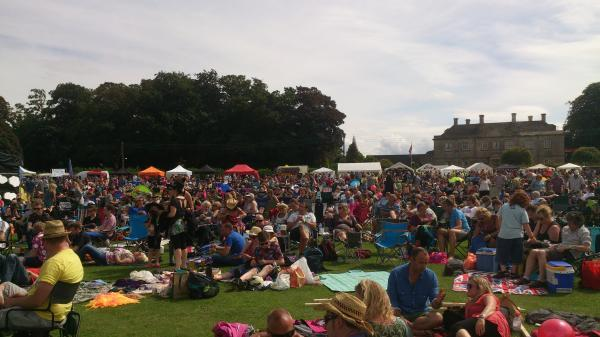 VIDEO: Nibley Festival sees 4,500 revellers enjoy sun, live music, games and food