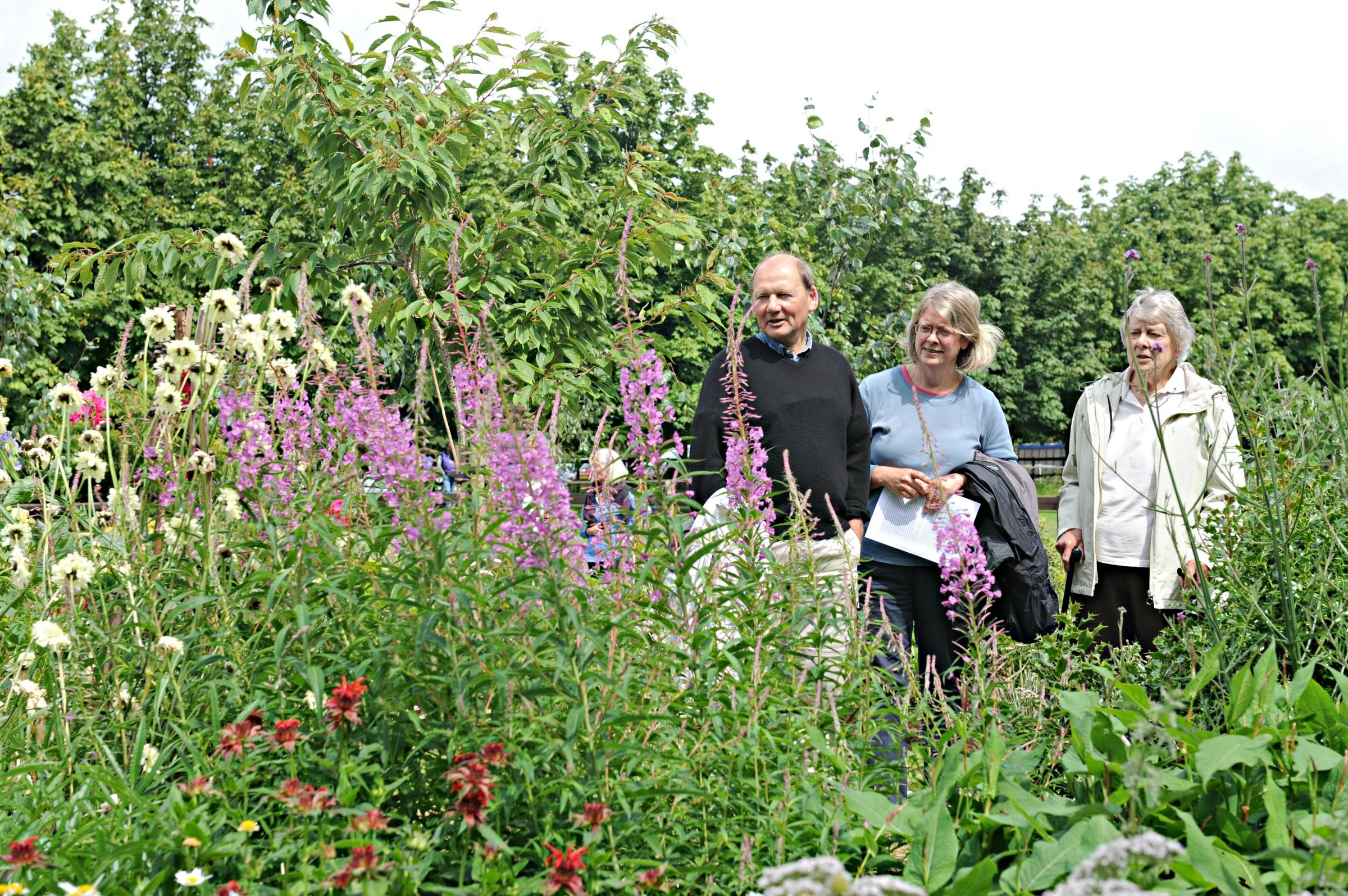 Landowner opens five acre gardens for hospice movement